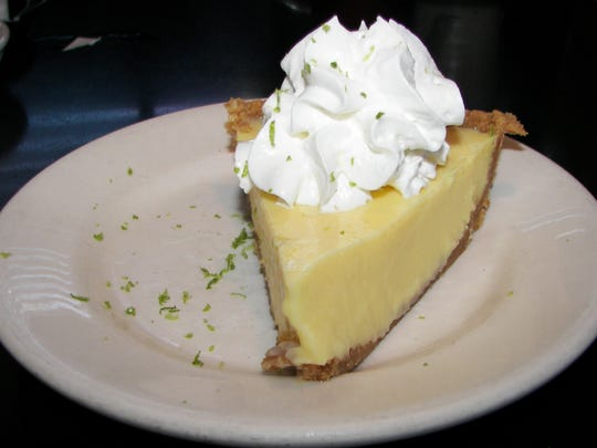 Floridians love their seafood and dishes with island accents, but Key lime pie remains an iconic favorite.