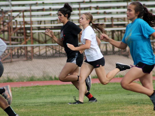 The Tularosa Wildcat track teams travel to Lordsburg for the District 3-3A at 3 p.m. today.