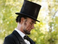 Fritz Kline Abraham Lincoln impersonator