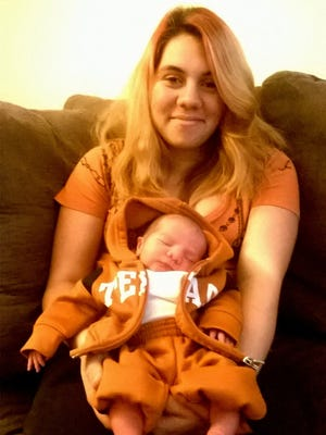 Ashley Janosky and her son, Connor Jaxson Stiles