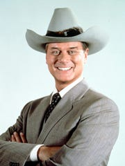 Larry Hagman, seen here in 1981, turned 'Dallas' oilman