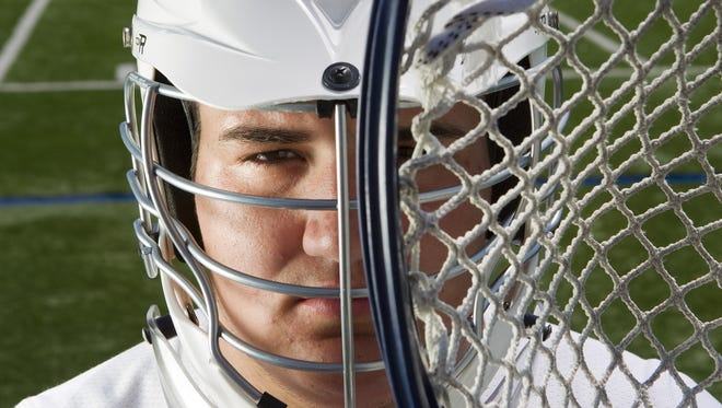 Fairport's Blaze Riorden was All-Greater Rochester Boys Lacrosse Player of the Year in 2012.