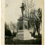 Confederate monument, Springfield National Cemetery.