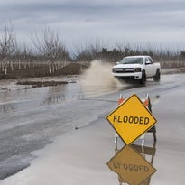 Series of storms brings January rain total to 4 inches