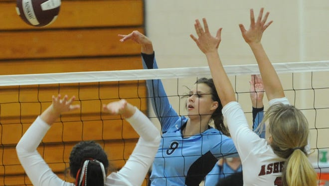 SallyAnne Johnson (8) and Enka will be part of Saturday's big jamboree in Henderson County.