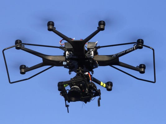 Drones are providing film and TV viewers a new perspective on the action