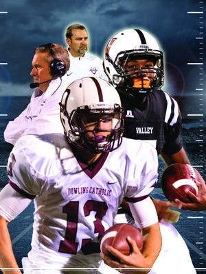 Class 4A No. 1 Valley plays third-ranked Dowling Catholic on Friday at 7:30 p.m. Whichever team wins will take a one-game lead in the rivalry series.