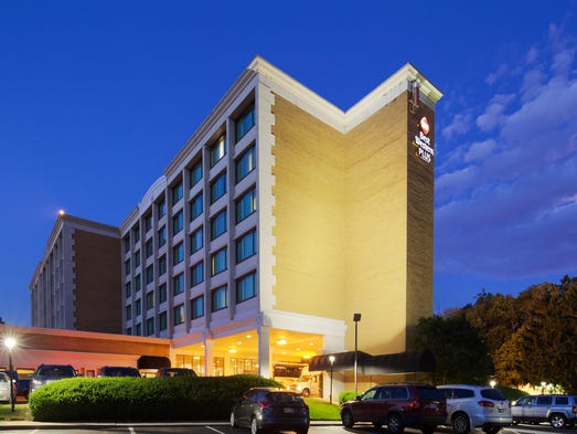 The Best Western Plus Rockville Hotel and Suites is