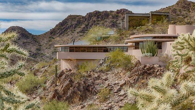 The Norman Lykes House in Paradise Valley, Arizona