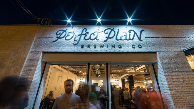 Perfect Plain Brewing Co. held its grand opening Tuesday, Nov. 21, 2017. The new brewery is located at 50 E. Garden St.