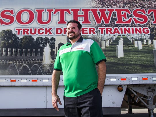 Sean Williams, president of Southwest Truck Driver