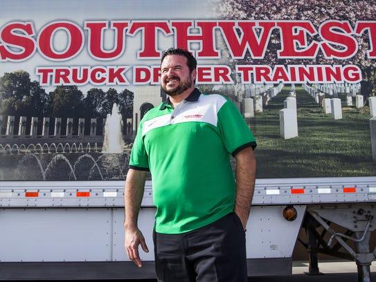 Sean Williams, president of Southwest Truck Driver