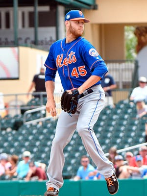 Zack Wheeler will start the year in the Mets' rotation.
