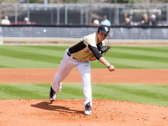 Thaddeus Ward used the Valley Baseball League this summer to help transition into a starting pitcher for Central Florida as a sophomore