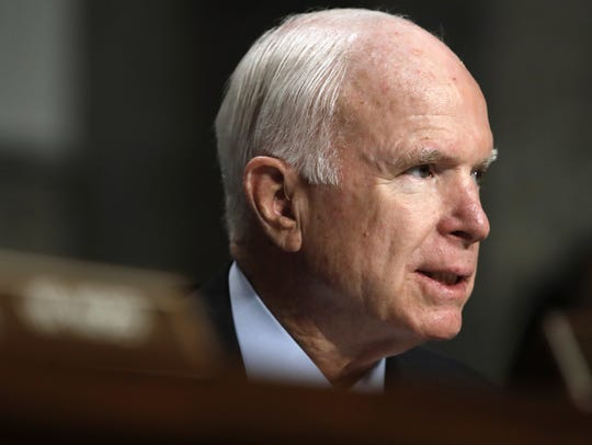 "The title of the documentary, ""John McCain: For Whom"