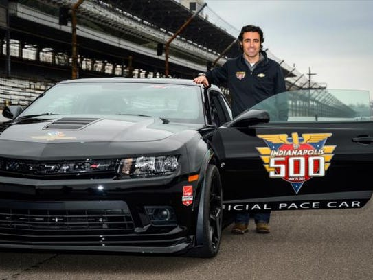 indy 500 traditions pace car 2 dario franchitti