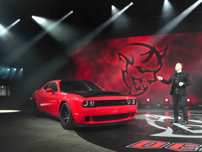 Photos: 2018 Dodge Challenger SRT Demon
