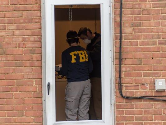 FBI raid in Cleveland