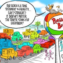 Viewpoint: Roundabouts would ruin beach