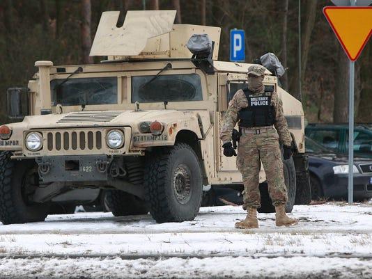 U.S. troops Poland
