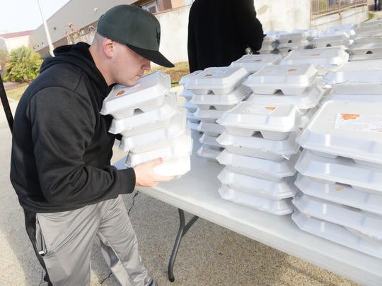 Thanksgiving meals prepared by The Shreveport-Bossier
