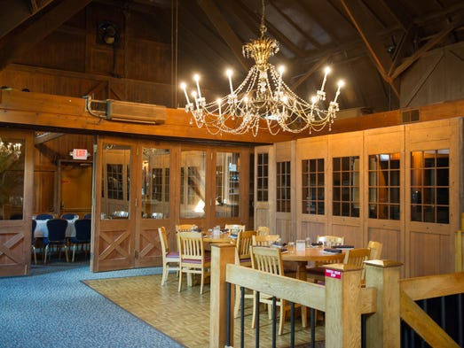 The Tavern at Clover, at 2851 Clover Road in Pittsford, de-emphasizes the bling that used to be in the restaurant when it was the Crystal Barn.