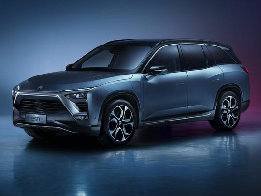 The Nio ES8 is a Chinese high-performance electric SUV. U.S.-listed advance depository receipts for NIO Inc., the maker of ES8 electric sport utility vehicles, plunged as much 5.4 percent to $5.06, the lowest intraday price since the Shanghai-based company's initial public offering in September.
