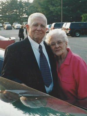 William J. Quill, left,
