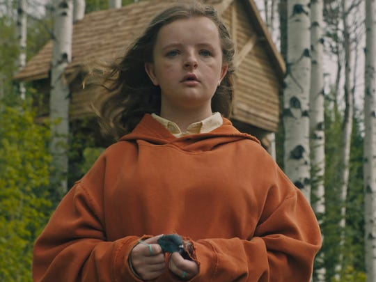 "Milly Shapiro stars as the youngest member of a family wracked by the death of its matriarch in the horror thriller ""Hereditary"" (June 8)."