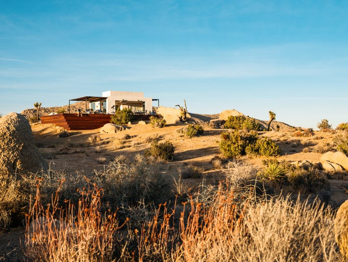 Wakanda Ranch is a Pioneertown Airbnb that boasts panoramic