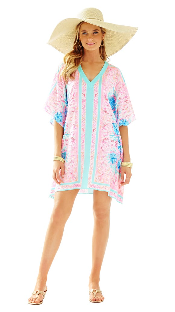 Thea Caftan in Sole Seaurchin by Lilly Pulitzer, $198.