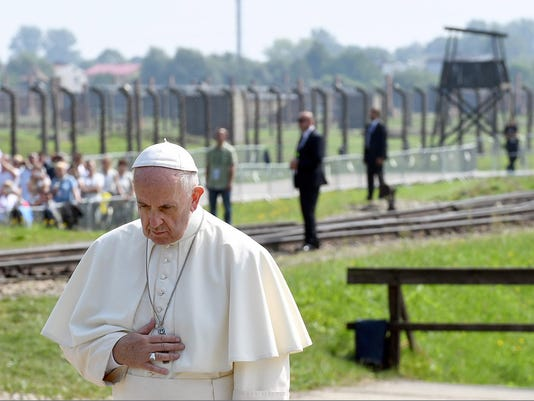 EPA POLAND POPE AUSCHWITZ-BIRKENAU REL BELIEF (FAITH) CHURCHES (ORGANISATIONS) POL