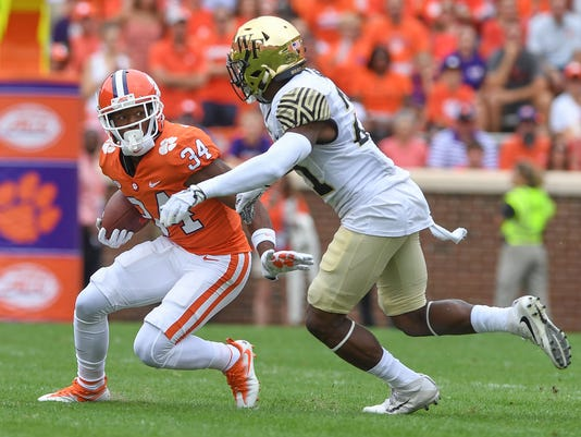 Clemson Wake Forest Football