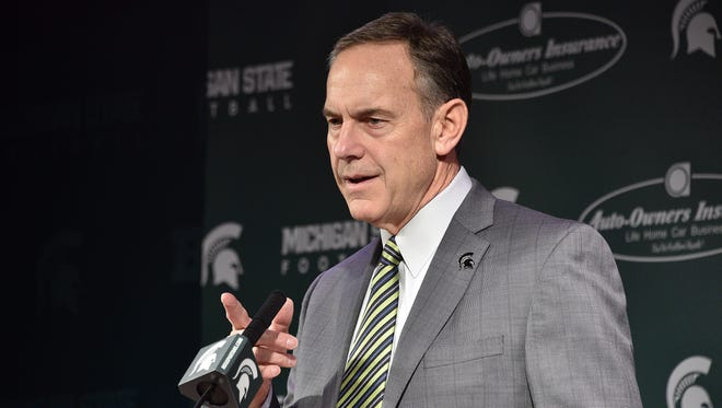 Michigan State coach Mark Dantonio didn't have much to say about the sophomore defensive linemen who left the team for personal reasons.