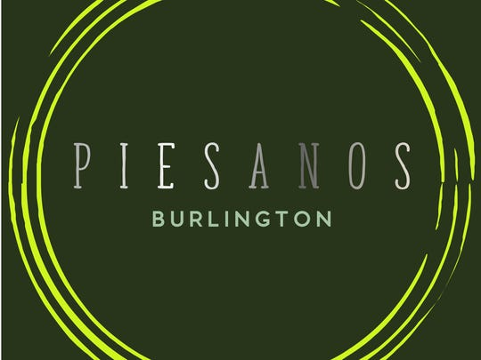 The logo for Piesanos, the restaurant taking the place