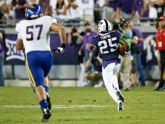 Sep 3, 2016; Fort Worth, TX, USA; TCU Horned Frogs