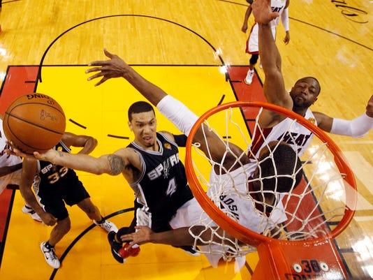 APTOPIX NBA Finals Spurs Heat Basketball
