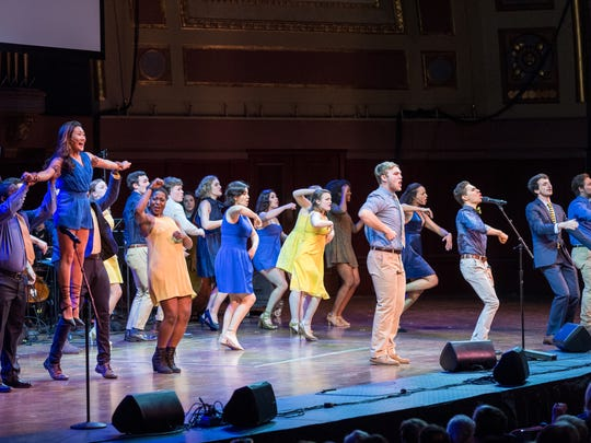 """A performance during the """"True Blue: A Tribute to Michigan"""""""