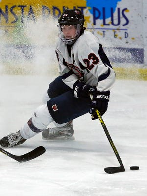 Appleton United boys' hockey standout Trenton Bliss has committed to play collegiately at the University of Wisconsin.
