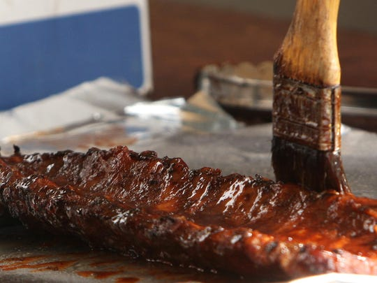 The Rock'n Ribs BBQ Festival is here? It must be spring.