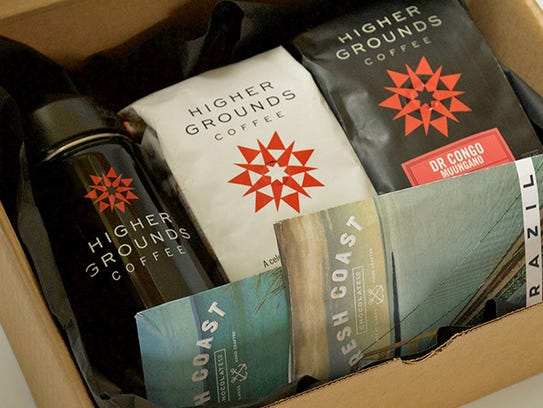 Higher Grounds Coffee holiday gift package