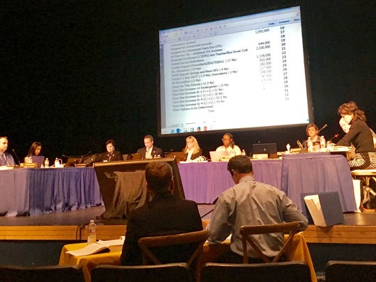 The Washoe County School Board and district leadership had a meeting on Thursday May 13 to talk about possible budget cuts going in to FY2018.