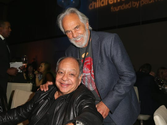 Actors Cheech Marin (L) and Tommy Chong attend the after party for the SeriousFun Children's Network 2015 Los Angeles Gala: An Evening Of SeriousFun celebrating the legacy of Paul Newman on May 14, 2015 in Hollywood, California.