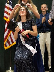 Ellen Sattler of Clive is crowned the new Polk County
