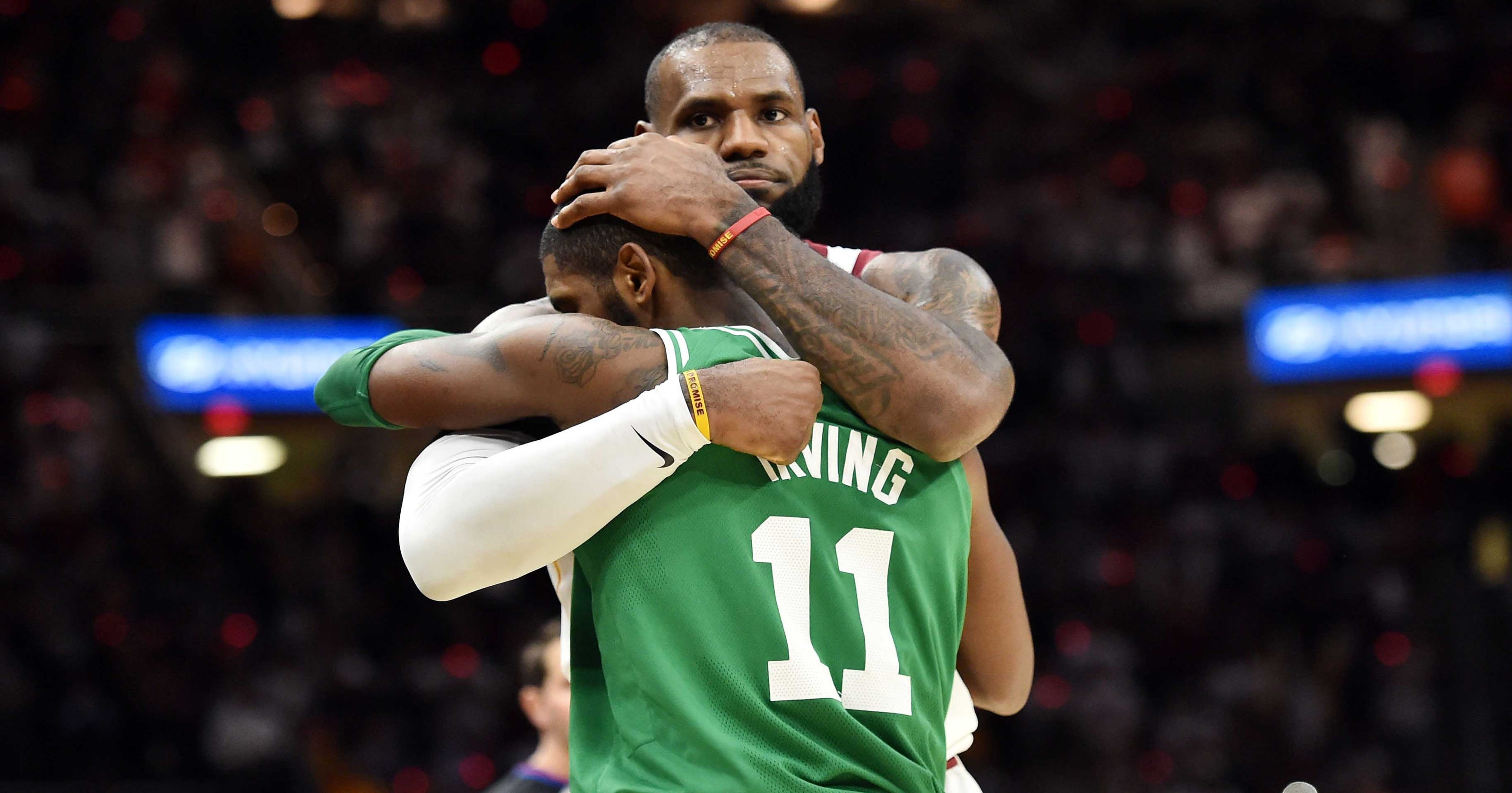 db9f6dff0 NBA All-Star draft results  LeBron James selects ex-teammate Kyrie Irving