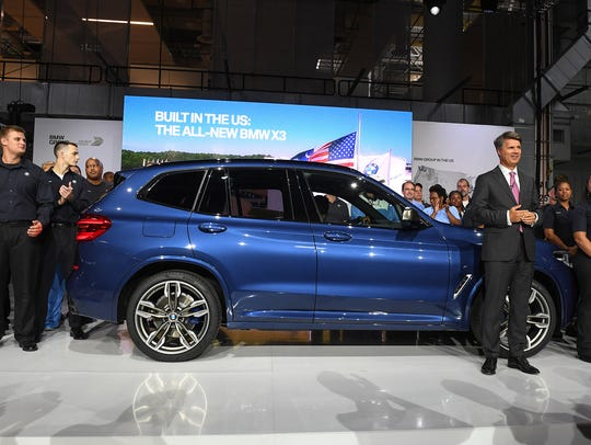 BMW Chairman and CEO Harald Krueger introduces the