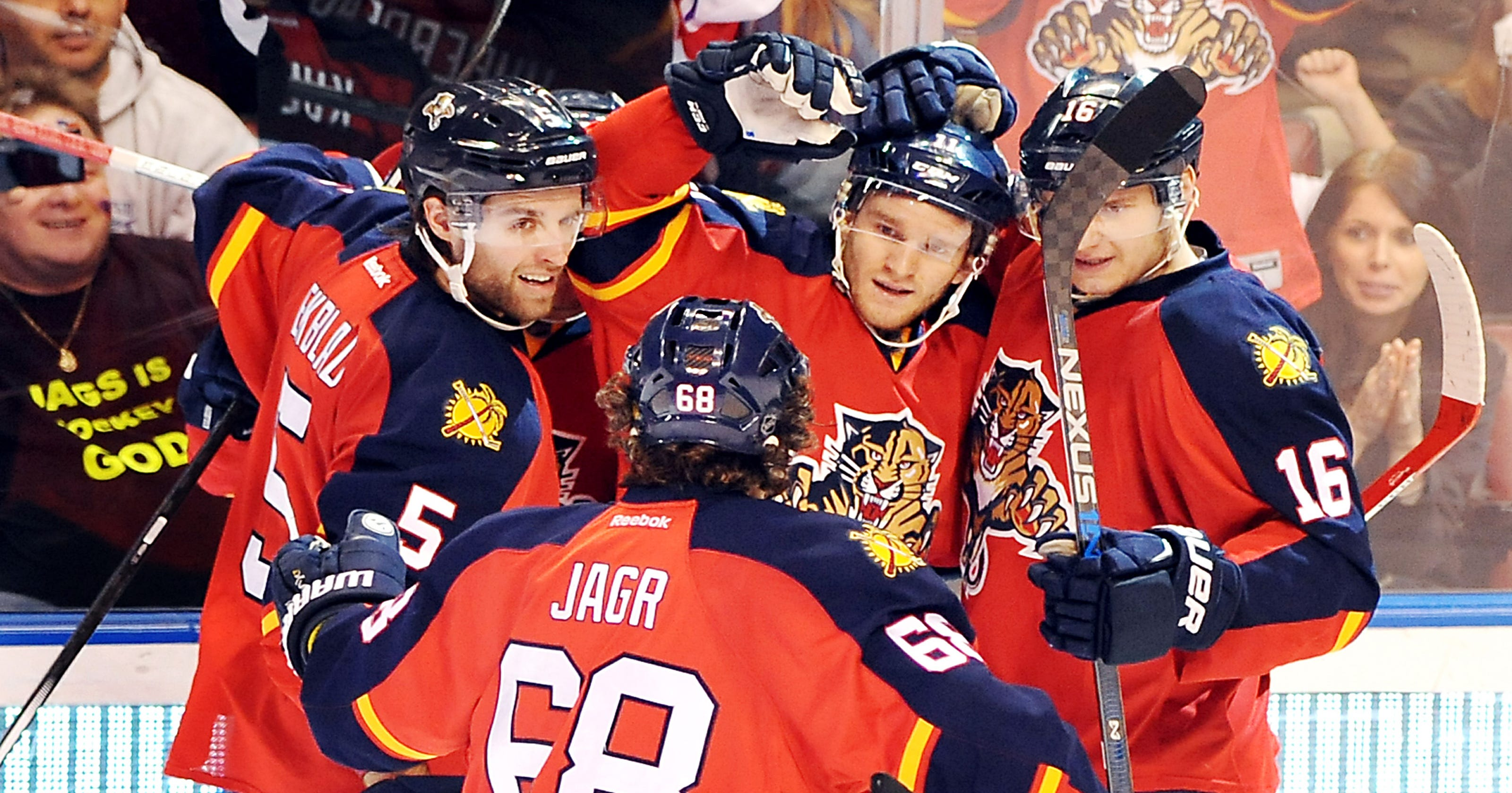 3e584228a Jonathan Huberdeau helps Panthers stop Lightning s streak
