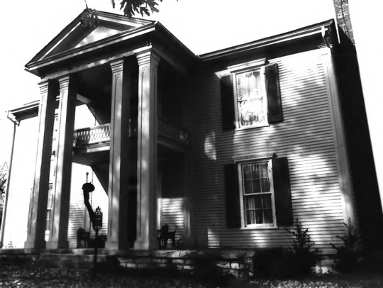 The Joseph Wilson home in 1987.