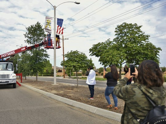 Carlos Valdez's family captures the moment their loved