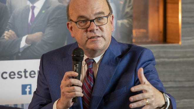 U.S. Rep. James McGovern of Worcester.